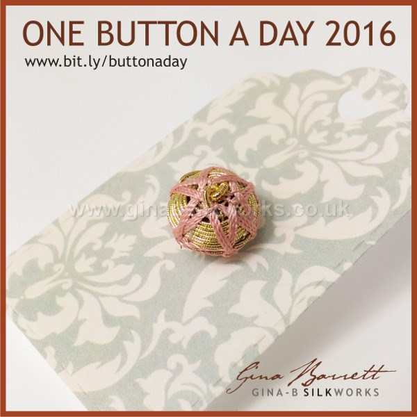 Day 259: Soleil #onebuttonaday by Gina Barrett