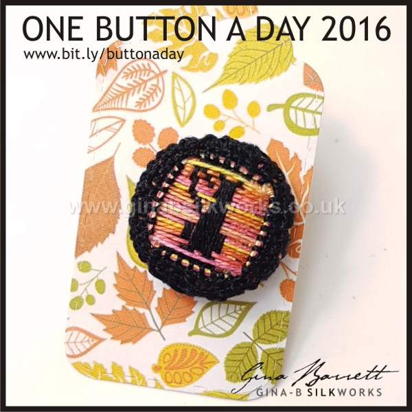 Day 302: Lanky Cat #onebuttonaday by Gina Barrett