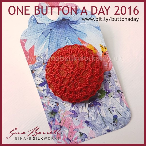 Day 304: Burlesque #onebuttonaday by Gina Barrett