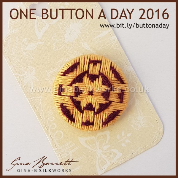 Day 334: Fractal #onebuttonaday by Gina Barrett