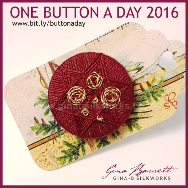 Day 341: Dowry Gold #onebuttonaday by Gina Barrett
