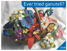 Ever tried ganutell flower making? Shop here for supplies