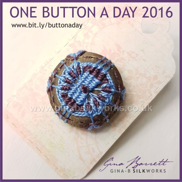 Day 311: Peculiar #onebuttonaday by Gina Barret