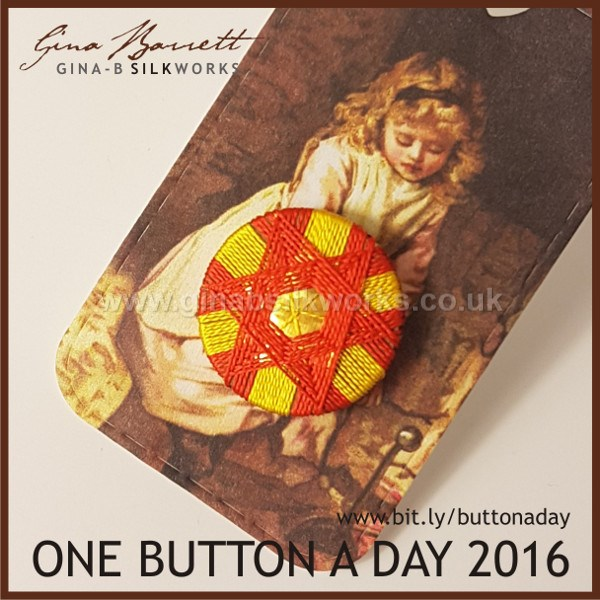 Day 314: Schaumburg Star #onebuttonaday by Gina Barrett