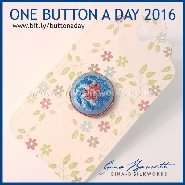 Day 315: Bonny #onebuttonaday by Gina Barrett