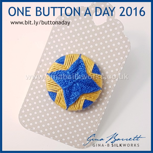 Day 317: Lodestar #onebuttonaday by Gina Barrett