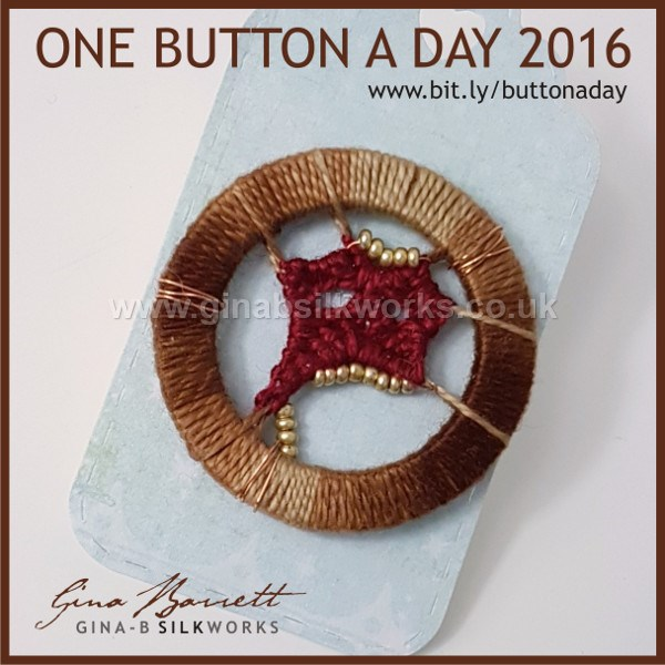 Day 328: Oddity #onebuttonaday by Gina Barrett