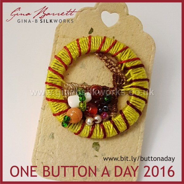 Day 329 : Cornucopia #onebuttonaday by Gina Barrett