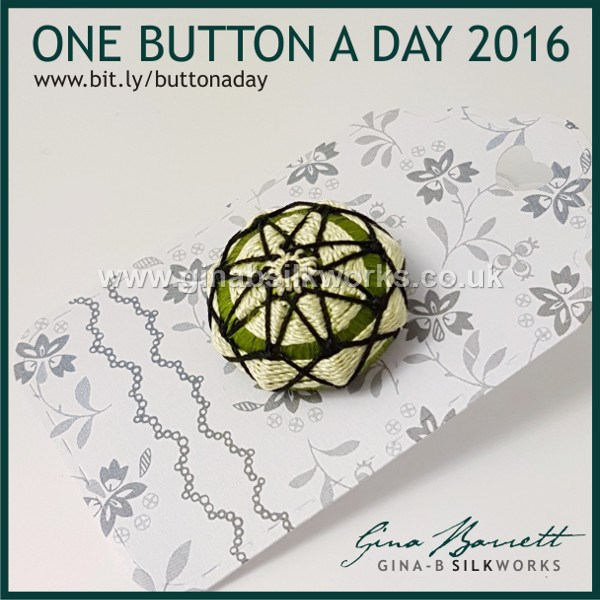 Day 330: Sleeping Beauty #onebuttonaday by Gina Barrett