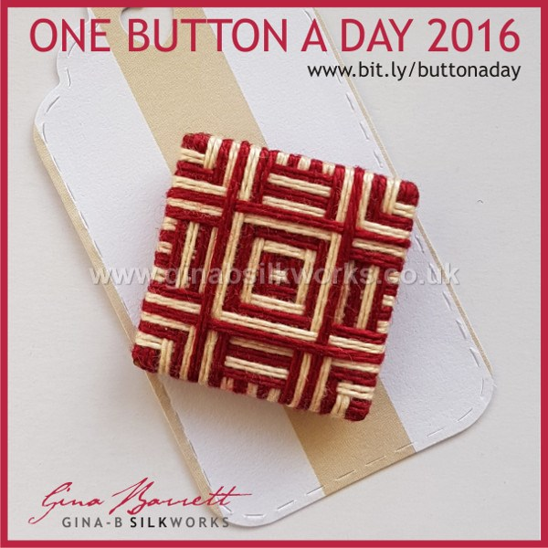 Day 331: Bloc #onebuttonaday by Gina Barrett