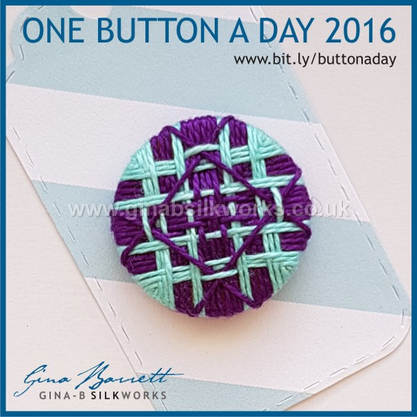 Day 333: Tangled Angles #onebuttonaday by Gina Barrett