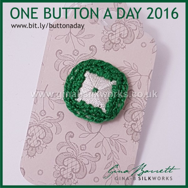 Day 340: Sola #onebuttonaday by Gina Barrett