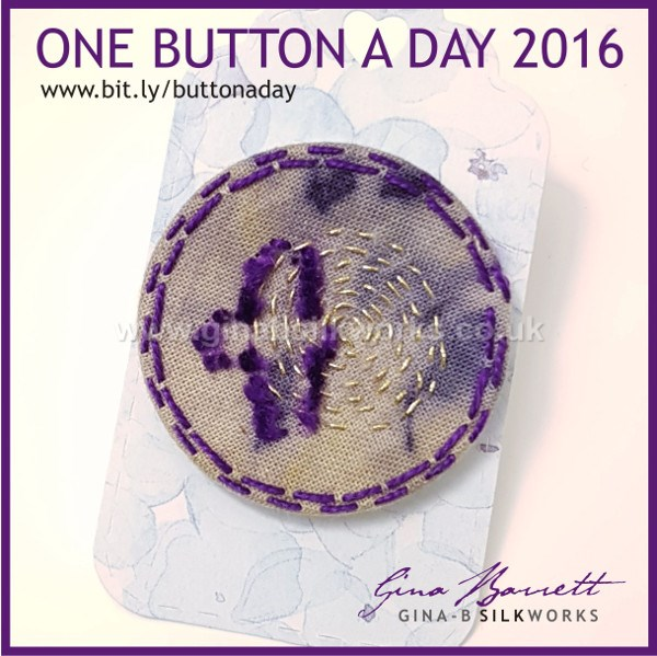 Day 347: Flight #onebuttonaday by Gina Barrett