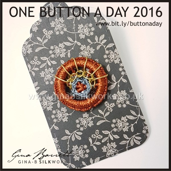 Day 349: Verne #onebuttonaday by Gina Barrett
