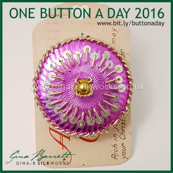 Day 360: Joy #onebuttonaday by Gina Barrett