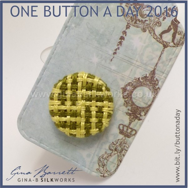 Day 11: Log Cabin #onebuttonaday by Gina Barrett