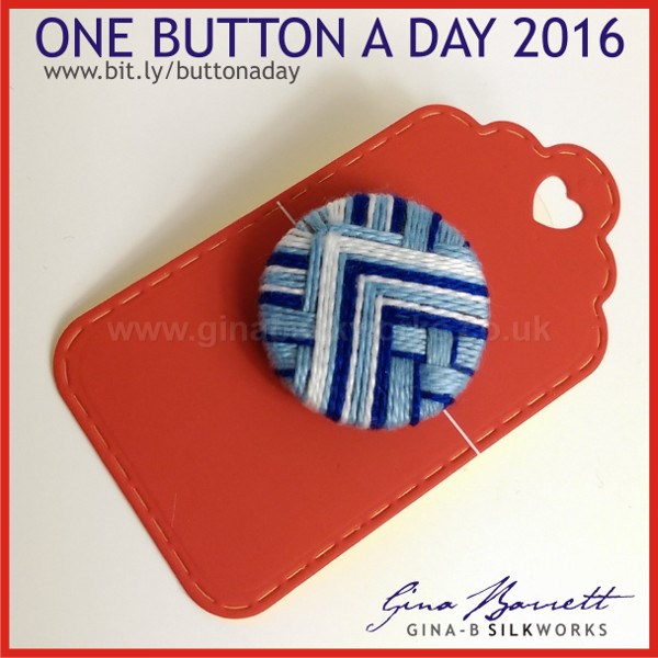 Day 23: Blue Mountain #onebuttonaday by Gina Barrett