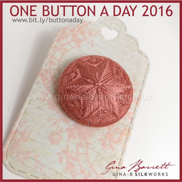 Day 24: Hurst Star #onebuttonaday by Gina Barrett