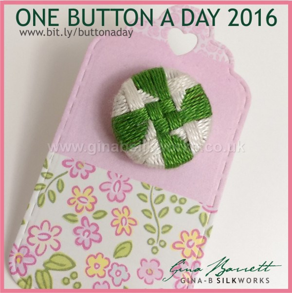 Day 26: Semaphore #onebuttonaday by Gina Barrett