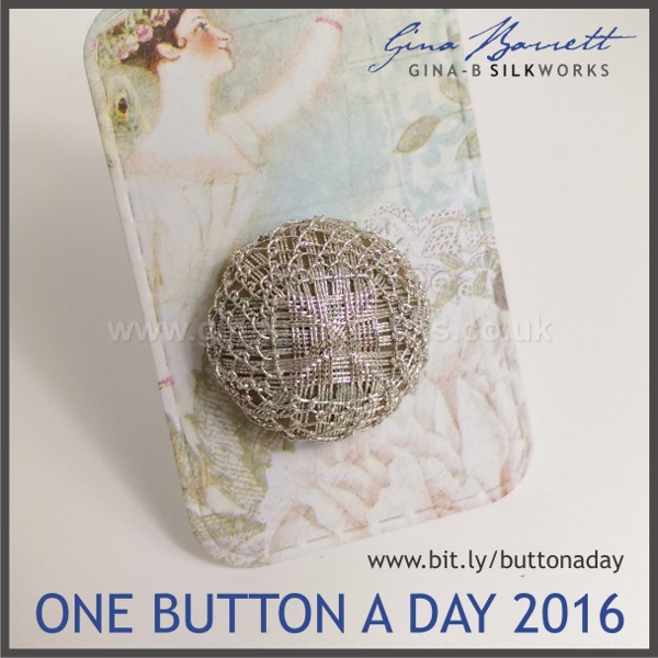 Day 44: Frost # onebuttonaday by Gina Barrett