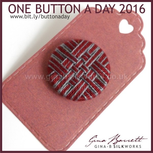 Day 49: City Stripe #onebuttonaday by Gina Barrett
