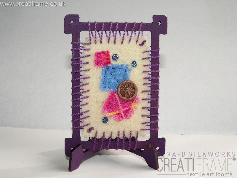 Applique on a CreatiFrame
