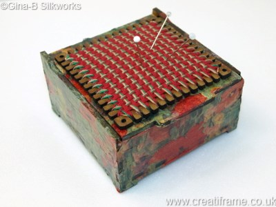 CreatiFrame Pincushion Box