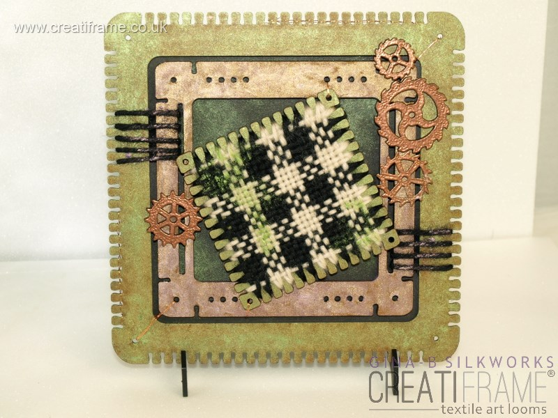 Steampunk Check CreatiFrame Project