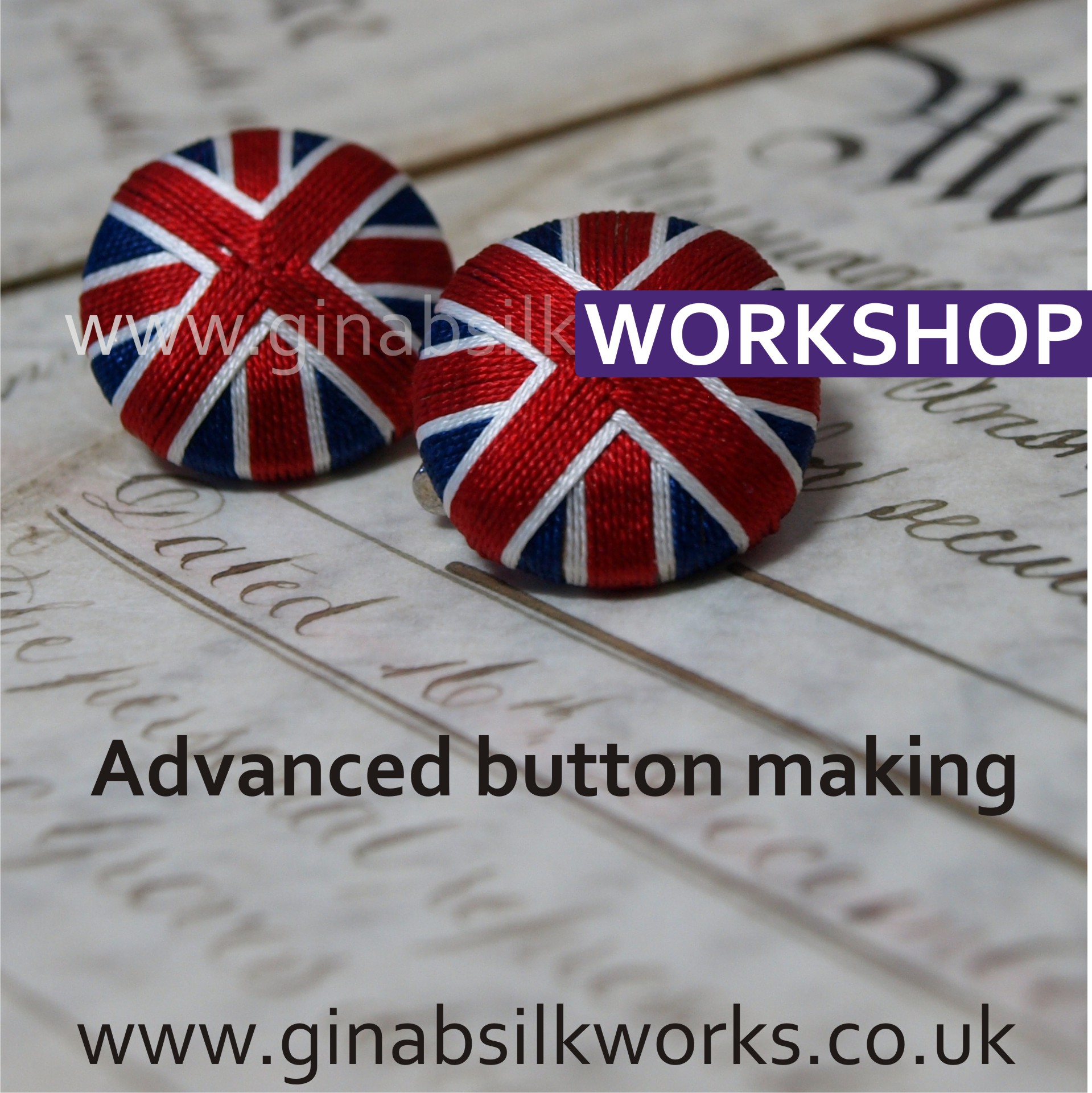Advance Button Making Workshop