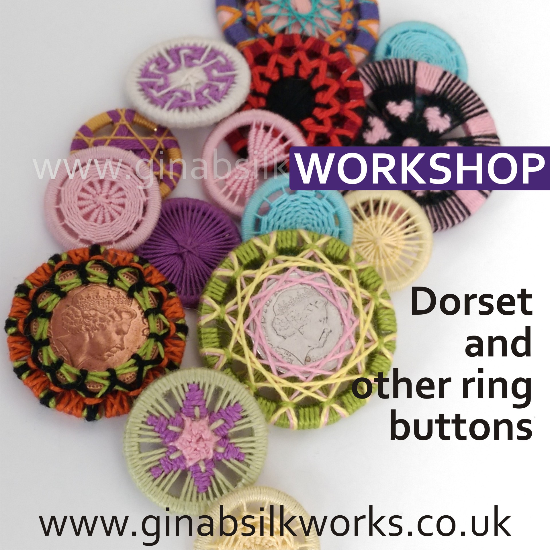 Dorset & Other Ring Buttons Workshop