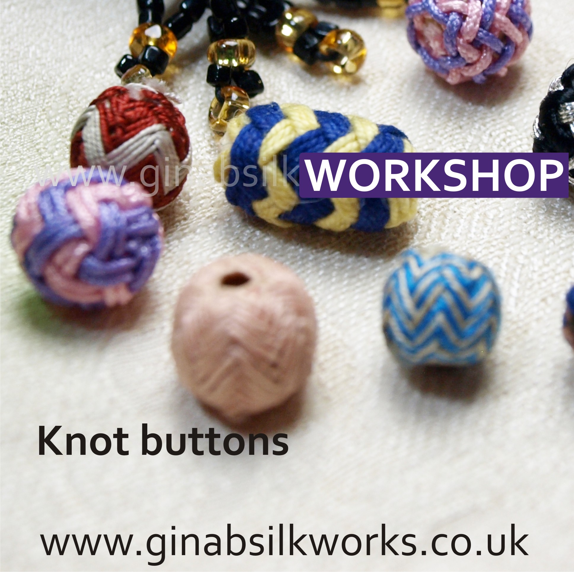 Knot Buttons Workshop