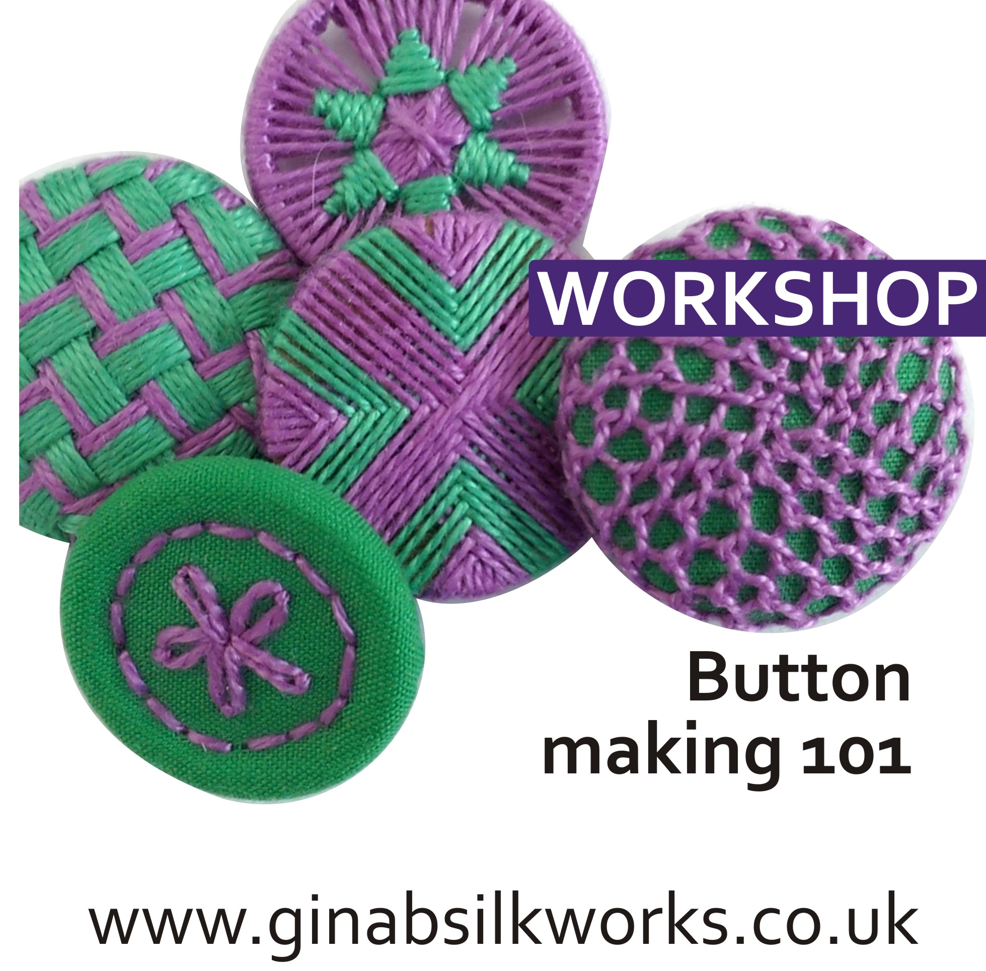Button Making 101 Workshop